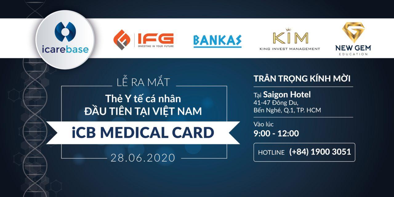 Sự kiện ra mắt thẻ y tế đầu tiên tại Việt Nam iCB Medical Card